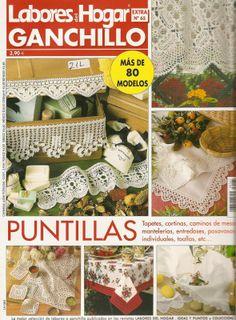 Labores para el hogar en crochet ( revista gratis   )**************************************+