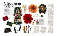 """Flowers, flowers and more flowers...🌺"" by iskraaleksovska ❤ liked on Polyvore featuring Gucci, Prada, Carla Zampatti, Bobbi Brown Cosmetics, Yves Saint Laurent and Gorjana"