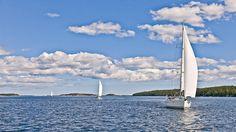 Stockholm Archipelago, 30 000 islands. Stockholm Archipelago, Most Beautiful Cities, Capital City, San Francisco Skyline, Sweden, Scandinavian, Sailing, Places To Go, Boating