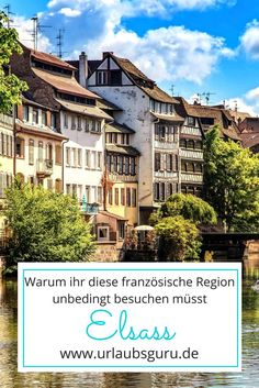 Visiting beautiful Alsace - Breathtaking natural beauties, mysterious art treasures and excellent cuisine – this and much mor - Vacations To Go, Vacation Places, Alsace, Weekend Trips, Day Trip, Travel Around The World, Around The Worlds, Spring Break, Places To See