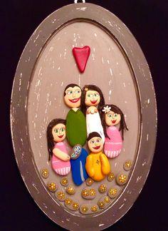 Stone Crafts, Rock Crafts, Diy And Crafts, Arts And Crafts, Pebble Painting, Pebble Art, Stone Painting, Painting For Kids, Art For Kids