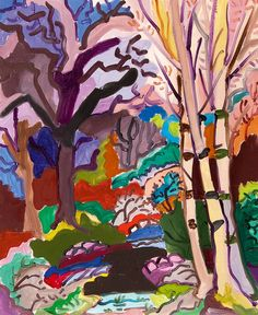 Charles Lapicque (Fr., 1898-1988), L'hiver dans les bois, 1965