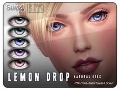 The Sims Resource: Lemon Drop- Natural Eyes by Screaming Mustard • Sims 4 Downloads  Check more at http://sims4downloads.net/the-sims-resource-lemon-drop-natural-eyes-by-screaming-mustard/