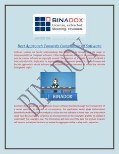 Best approach towards compliance of software
