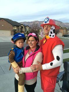 Paw patrol Halloween costumes. Hptdesign