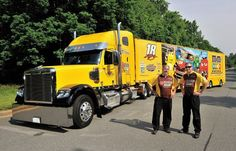 the Road with NASCAR® Hauler.
