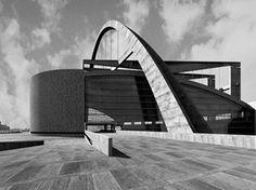 Palacio de los Soviets, Le Corbusier, 1931-32<br />Rendering Takehiko Nagakura / MIT