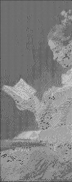 Cross stitch pattern of The reader by fragonard