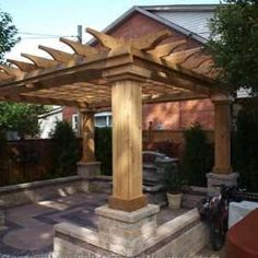 The pergola you choose will probably set the tone for your outdoor living space, so you will want to choose a pergola that matches your personal style as closely as possible. The style and design of your PerGola are based on personal Outdoor Pergola, Backyard Pergola, Pergola Kits, Outdoor Pool, Pergola Ideas, Modern Pergola, Outdoor Landscaping, Diy Patio, Patio Ideas