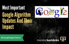 Most Important Google Algorithm Updates And Their Impacts | #SEO