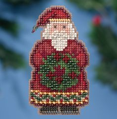 Mill Hill Ye Old Santa - Counted Cross Stitch Kit - TheAngelsNook.com