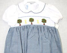 412043-A026- Smocked Dresses - Baby Girl Clothes -  Christmas Dress - Baby Clothes - Toddler Dresses - Christmas Baby Dress- Baby Girl Dress