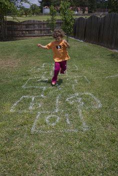 Backyard Hopscotch