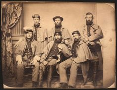 Pennsylvania contributed more than 350,000 soldiers to the Union Army during the Civil War, second only to New York State, including these men from the 149th Pennsylvania Infantry.