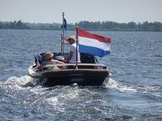 "6,20 m motorsloop ""Hendrika"" designed and built by Akerboom Shipyard in Leiden, The Netherlands. Year 1969"