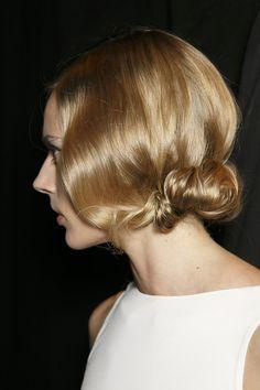 Hair: Peter Gray for Moroccanoil Makeup: Tom Pecheux for MAC Cosmetics Nails: Deborah Lippmann