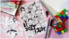 [Tutorial] How to Doodle - 3 Basic Steps + A Doodle - Just Do It by Pic Candle - YouTube