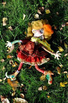 МК Создание куклы Сентябрины - Ярмарка Мастеров - ручная работа, handmade
