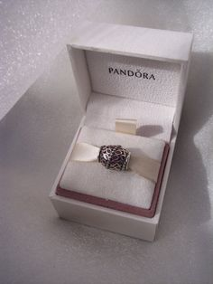 Authentic Pandora Climbing Red Ivy Bordeaux by JEWELSELAGANT, $30.00