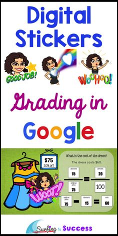 Digital stickers can be a powerful motivator. Check out these tips and tricks for grading digital assignments. Teaching Technology, Technology Integration, Educational Technology, Instructional Technology, Technology Tools, Instructional Strategies, Medical Technology, Energy Technology, Technology 2017