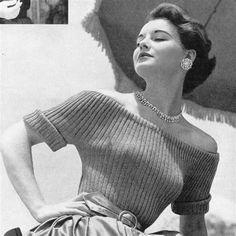 1950s Fashion - The Fashion eZine  fashion  #fashion valley #fashion wall art #alternative fashion