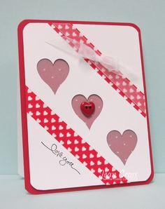 valentine window to cards  Jackies Everywhere: Windows