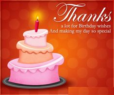 Dgreetings - Birthday Thank You Cards