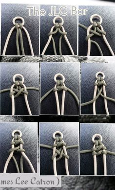 PHOTO TUTORIAL #paracord #bracelet
