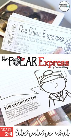 An engaging literature unit for The Polar Express, by Chris Van Allsburg, a favorite holiday picture book. Includes loads of reading activities, writing extensions, a small group project, and ideas and materials for setting up your own Polar Express Day! Gr 2-4 ($)