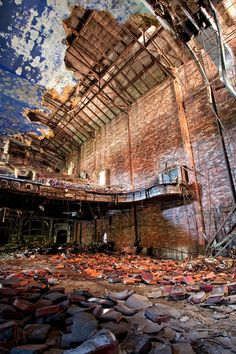 Palace Theatre - Gary, Indiana (Amy Heiden)