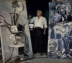 Picasso with Picassos