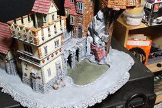 Vampire themed table