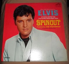 ELVIS PRESLEY - SPIN OUT- Vinyl Record Album LP- W/ Photo - VG+ to EX #EarlyRocksoundtrack