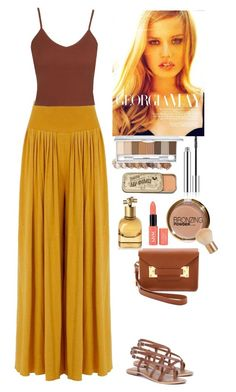 """In a desert"" by eliza-redkina ❤ liked on Polyvore featuring Topshop, Just Because, Sophie Hulme, H&M, Bottega Veneta, StreetStyle, outfit, like, look and summer2015"