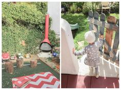 LA with kids, a place we rented from Kid & Coe