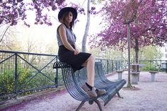 Full blossoms are so inspiring. We've came up with something quite classic, but still original. I think that the quintessence of a Parisian girl is the stripped shirt. But what about the pencil skirt? It's all a thing... More on www.tomboychronicle.com