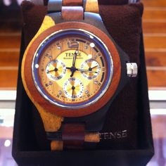Tense wooden Watches have been a great addition to our store- Mangos Boutique Wooden Watch, Watches, Store, Accessories, Wood Watch, Wrist Watches, Tent, Wristwatches