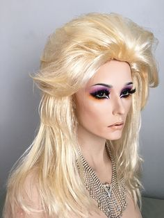 Halloween, Drag Queen, Budget, Wig, Color, Pale Blonde