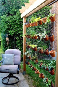 jardim-vertical-suspenso-inverno-ideias-44 Guia com 47 ideias para seu jardim vertical dicas faca-voce-mesmo-diy jardinagem madeira quintais