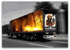 Awesome 3D truck art | #FreightCenter