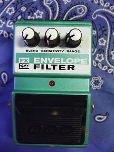 Clean DOD FX25B Envelope Filter Guitar And Bass Effects Pedal $67