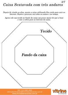 Arte Brasil | Caixa Sextavada com Cartonagem - Luiz Masse