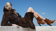 Nadja Bender, Ashleigh Good by Karl Lagerfeld for Fendi Fall Winter 2014-2015 5