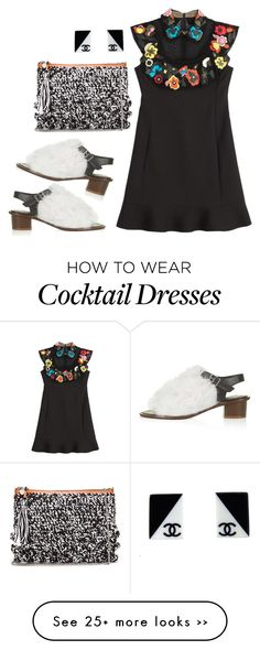 """""""081415"""" by squidattack00 on Polyvore featuring Unique, Valentino, Chanel and M Missoni"""