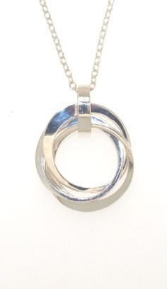 Kanjo Jewellery :: Three Kanjo Circles - sterling silver - R Sutherland Jewellers By Design