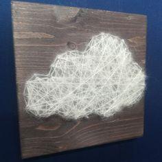 Box créative DIY nuage fluffy fils tendus - FRAIS DE PORT INCLUS