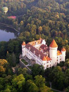 Konopiště castle (Central Bohemia), Czechia #castle #Czechia