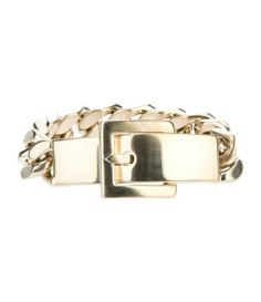 GIVENCHY chain bracelet - better if in silver....