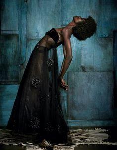 Giorgio Armani silk tulle and resin bead dress, £8,750