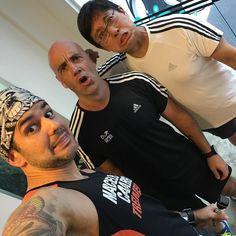 Faz uma careta aí!! Treino na runbase da Adidas com o @corridanoar  Bom dia!!